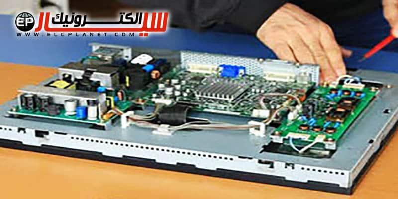 عیب یابی نمایشگرهای LCD