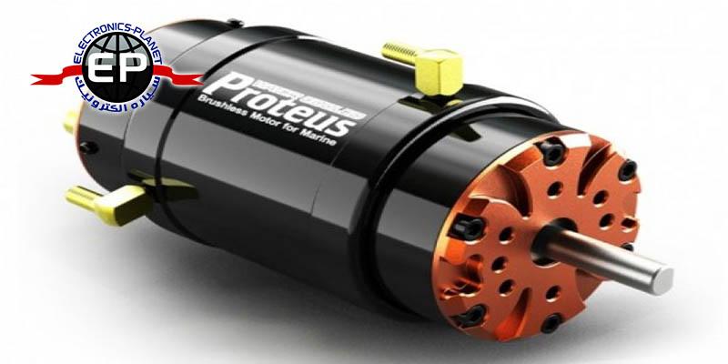 پروژه کنترل دور و جهت موتور DC از راه دور