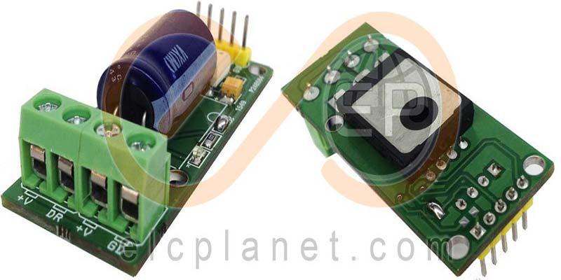 مدار رله حالت جامد یا SSR جریان مستقیم (DC) با استفاده از ماسفت و اپتوکوپلر