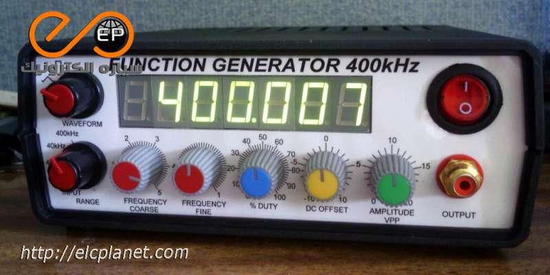مدار فانکشن ژنراتور 400Khz با آیسی ICL8038