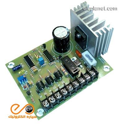 ولتاژ رگولاتور 400 هرتز مدل: VR-4396 برای برق زمینی هواپیما ( GPU )