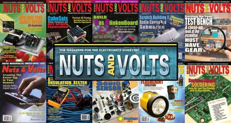 آرشیو کامل مجله NUTS and VOLTS به زبان انگلیسی