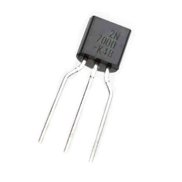 ترانزیستور 2N7000 پایه باز