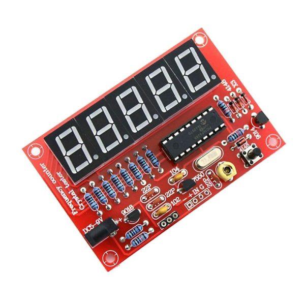 ماژول فرکانس متر دیجیتال 5 بیتی 1HZ تا 50MHZ